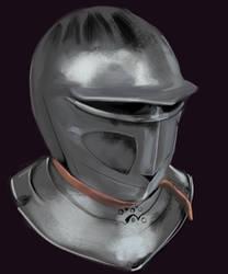 Helmet Study I by Mondracon