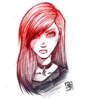 Goth Girl by ArucardPL