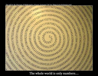 theWhole world is only numbers by cciv