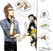 FFXV: What Should I Cook? by Erulesse