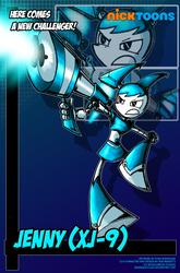 Nicktoons - Jenny (XJ-9) by NewEraOutlaw