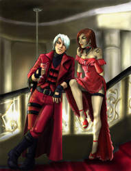 Luce ed Ombra - Dante and Isa by ultema