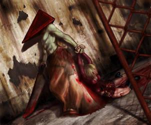 Silent Hill - Pyramid Head by ultema