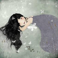 Les Papillons by AnneJulieAubry