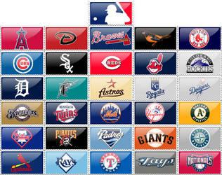 MLB stamps by RWingflyr