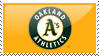 Oakland Athletics stamp by RWingflyr