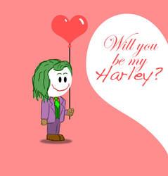 Joker Valentine by RWingflyr