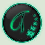 Tiffany Logo Button by QueenoftheLions15