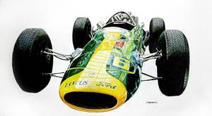 Lotus 34 by johnwickart