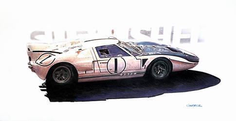 1965 MK II by johnwickart