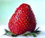 Strawberry by johnwickart