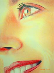 Bright Portrait by johnwickart