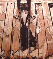 Legs and wet boards by johnwickart