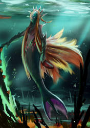 its not actually a mermaid though by VaiFlow