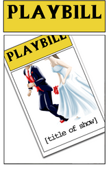Wedding Playbill Parody 9 by comic-heroine