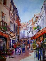 Loches, Grande Rue by p-e-a-k