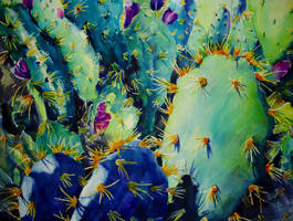 Crazy Cactus no. 1 by p-e-a-k