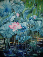 Blue Lotus no. 1 by p-e-a-k