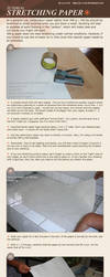Stretching Paper Tutorial by p-e-a-k
