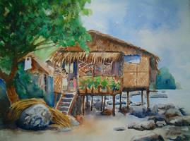 Fisherman's House by p-e-a-k