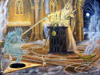 A Conjurer by stalkinghyena
