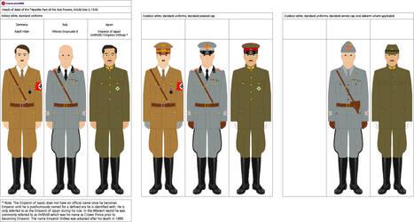 Tripartite Pact Heads of State 1940 by YamaLlama1986