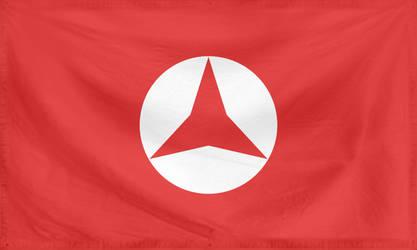 Rippled Flag Popular Front (Spain) by YamaLlama1986