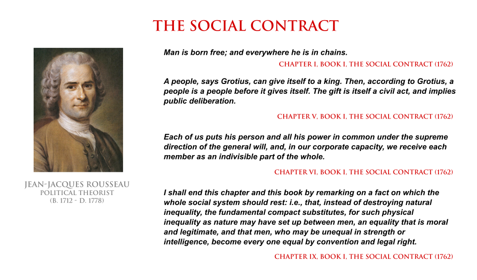 social contract rousseau jean jacques