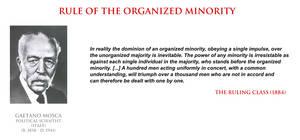 Gaetano Mosca - rule of the organized minority by YamaLlama1986