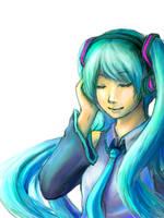 Hatsune Miku by LadyRawr