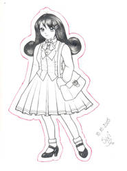 Schoolgirl by tatsku