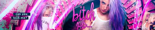 Banner 008 - Bitch pls... by MadeInSevila