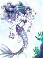 Mermaid by MikaRabidKitsune