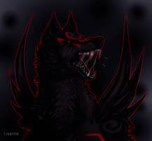 Dark Amaterasu by Lisannexx