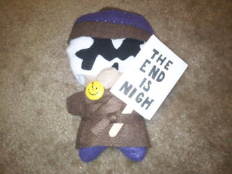 Rorschach Plushie Pic 1 by Lorienwoods