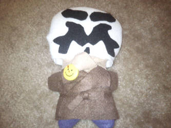 Rorschach Plushie Pic 2 by Lorienwoods