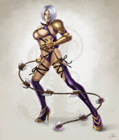 Ivy - The Gifted Warrior by Area-44