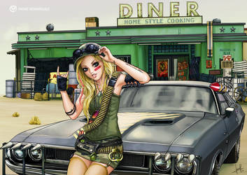 AVRIL LAVIGNE - ROCK N ROLL by Irene-Rodriguez