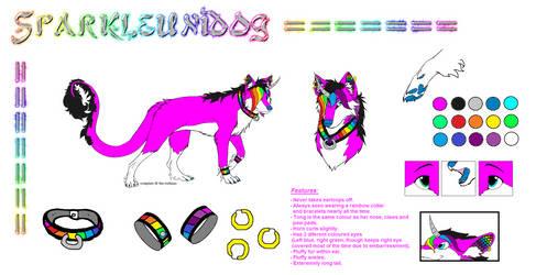 Sparkleunidog Reference Sheet (Ver.1) by Sparkleunidog