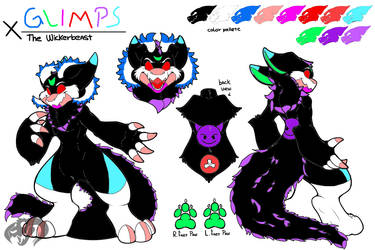 Commission Gift: Glimps Reference by Sparkleunidog