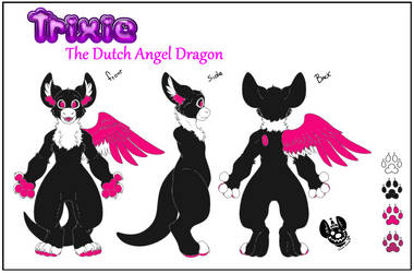 Commission Gift: Trixie Reference by Sparkleunidog