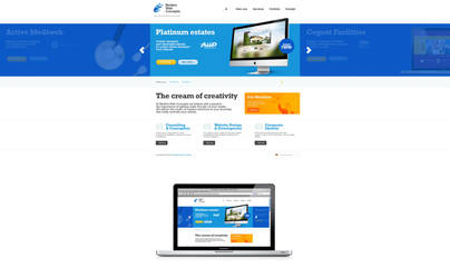 Modern Web Concept by bratn
