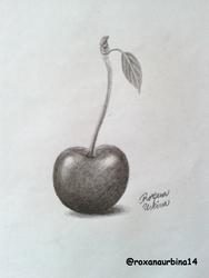 Cherry Drawing ..!! by RoxanaUrbina