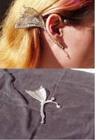 Wire Wing Ear Wrap by Imbrium66