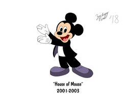 Mickey's 90th Birthday - House of Mouse by ZacharyNoah92