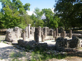 Small ancient temple Butrint by ChR1sAlbo