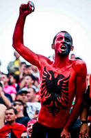 Red and Black Fan by ChR1sAlbo