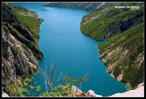 Koman Lake by ChR1sAlbo