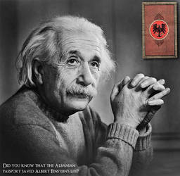 Albert Einstein by ChR1sAlbo