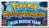 PMD Stamp : Pokemon Mystery Dungeon Blue by Acro-Sethya